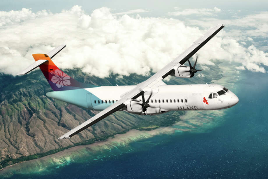 Island Air, which has recently enhanced its gate area at Honolulu's Commuter Terminal to include free Wi-Fi and smartphone charging stations, has expanded its summer schedule to add an additional daily round-trip flight between Kauai and Honolulu through Aug. 17. Part of Larry Ellison's holdings since 2013, the airline also has five daily round-trips between Honolulu and Lanai.  All flights are on 64-passenger turboprops, with one-way fares starting at $65. Photo: Island Air