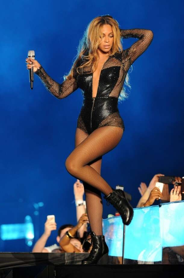 Beyonce performs on the opening night of the On The Run Tour at Sun Life Stadium on Wednesday, June 25, 2014, in Miami, Florida. Photo: Jeff Daly, Associated Press