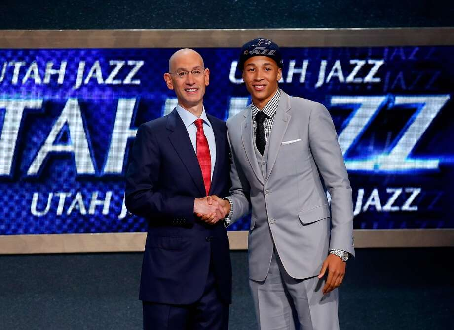 5. Utah Jazz – Dante Exum, 6-6, G, Australian Institute of Sport Photo: Mike Stobe, Getty Images