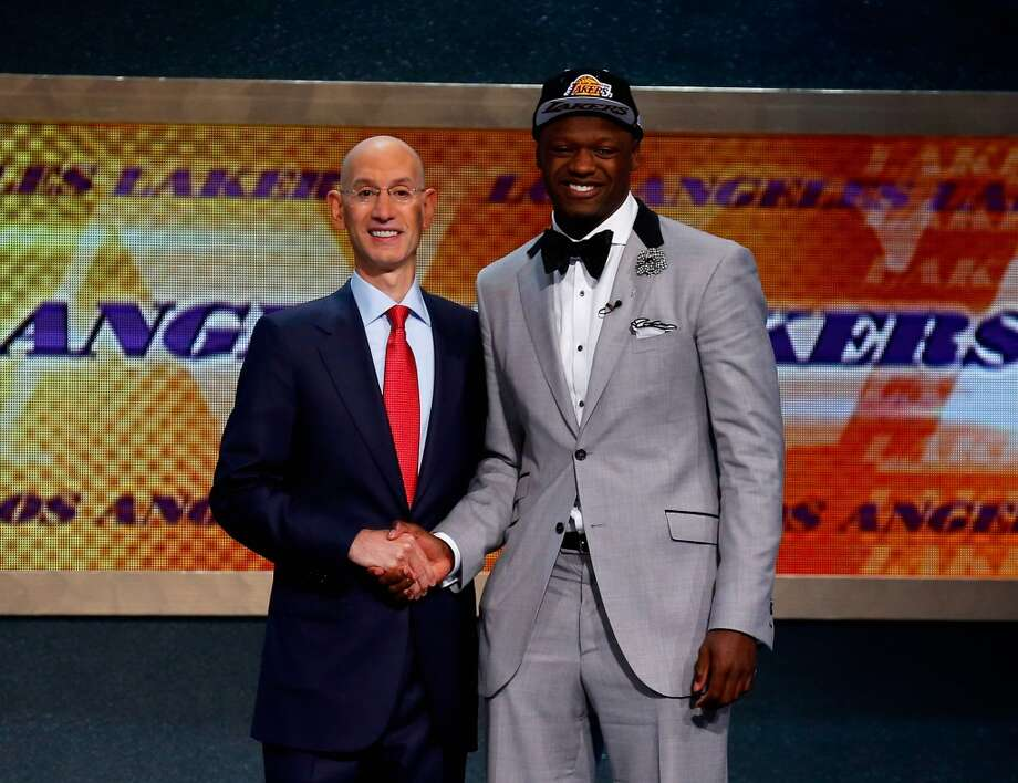 7. Los Angeles Lakers – Julius Randle, 6-9, F, Kentucky Photo: Mike Stobe, Getty Images