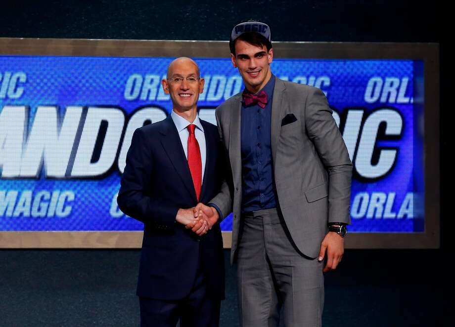 12. Orlando Magic – Dario Saric, 6-10, F, Cibona Zagreb * - Traded to Philadelphia 76ers along with 2015 2nd-round pick and another future 1st-round pick for Elfrid Payton. Photo: Mike Stobe, Getty Images