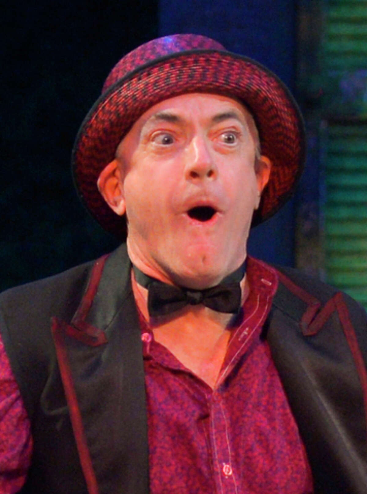 """Male lead Danny Scheie won for his """"The Comedy of Errors"""" role."""