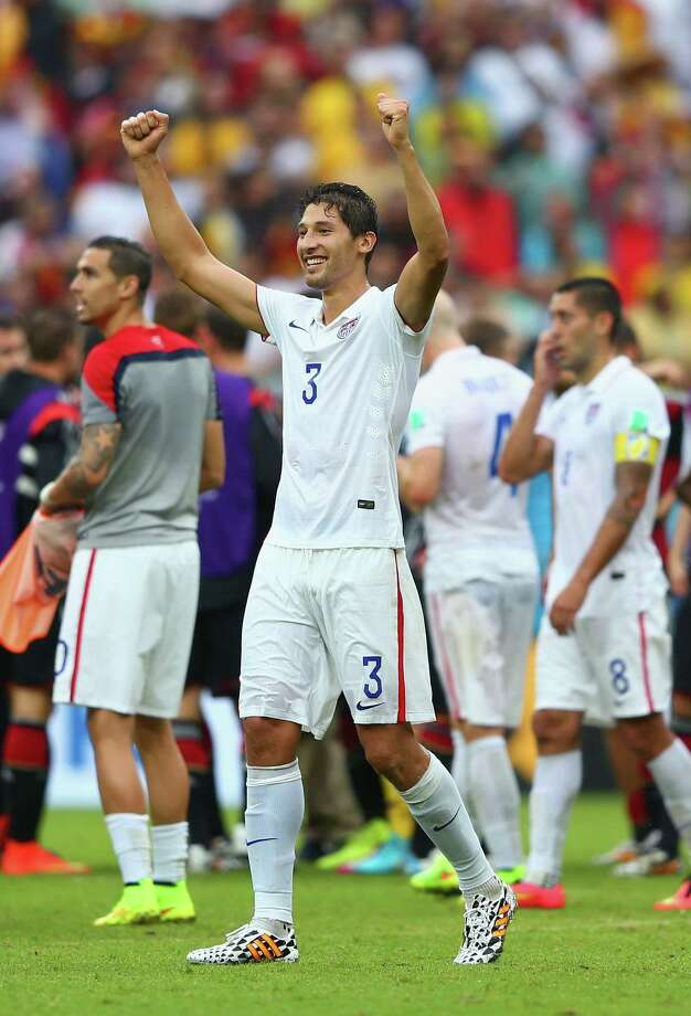 RECIFE, BRAZIL - JUNE 26:  Omar Gonzalez of the United States reacts after being defeated by Germany 1-0 during the 2014 FIFA World Cup Brazil group G match between the United States and Germany at Arena Pernambuco on June 26, 2014 in Recife, Brazil.  (Photo by Michael Steele/Getty Images) ORG XMIT: 491922677 Photo: Michael Steele / 2014 Getty Images