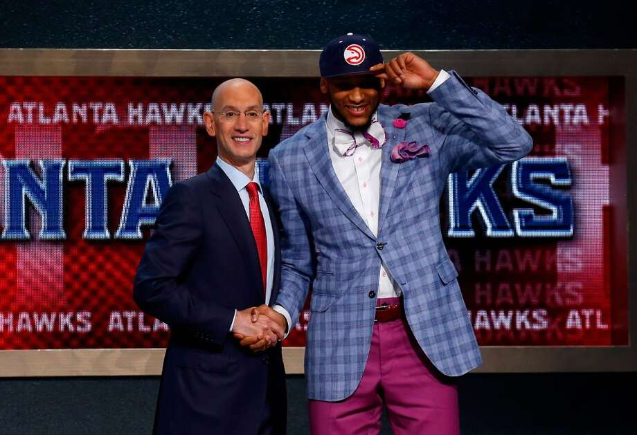 15. Atlanta Hawks – Adreian Payne, 6-10, F, Michigan State Photo: Mike Stobe, Getty Images
