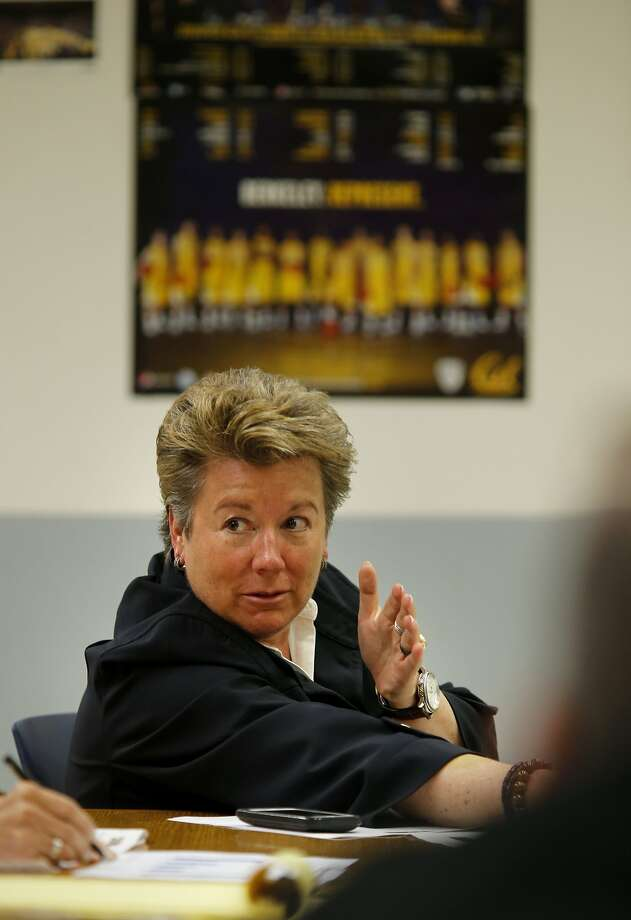Sandy Barbour is no longer Cal's athletic director. Photo: Brant Ward, The Chronicle