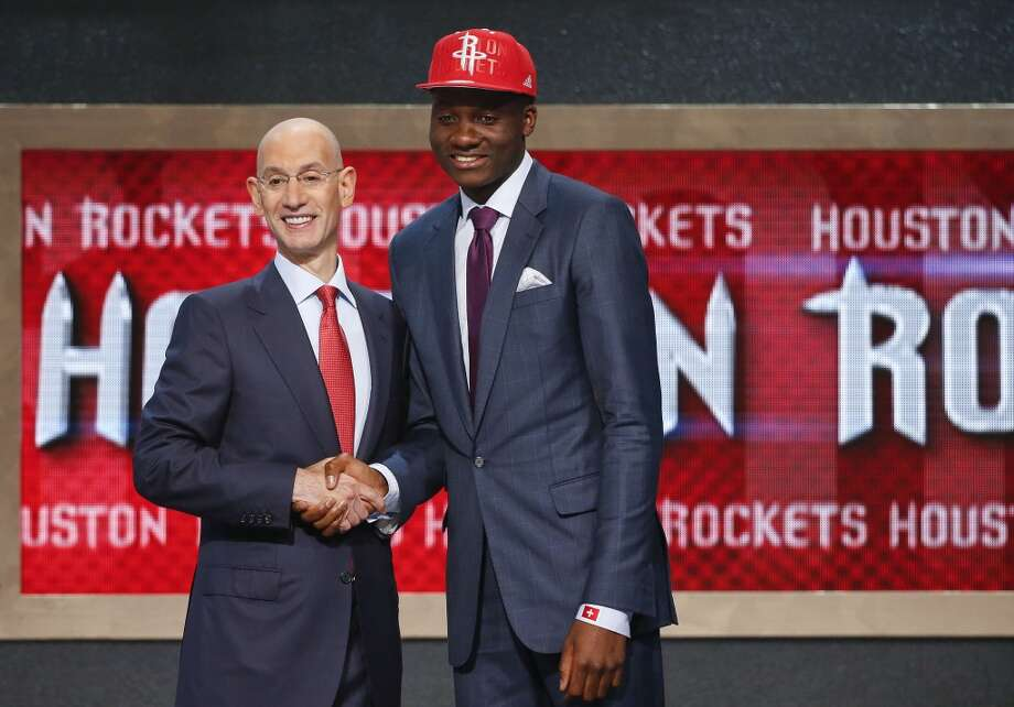 25. Houston Rockets – Clint Capela, 6-10, F, Chalon (France) Photo: Jason DeCrow, Associated Press