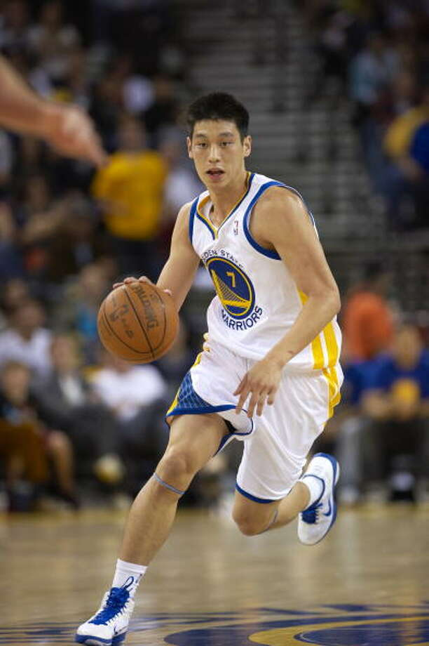 Basketball: Golden State Warriors Jeremy Lin (7) in action vs Los Angeles Clippers during preseason game.  Oakland, CA 10/8/2010 CREDIT: John W. McDonough (Photo by John W. McDonough /Sports Illustrated/Getty Images) (Set Number: X84820 TK1 R2 F53 ) Photo: John W. McDonough, Sports Illustrated/Getty Images / 2010 Sports Illustrated