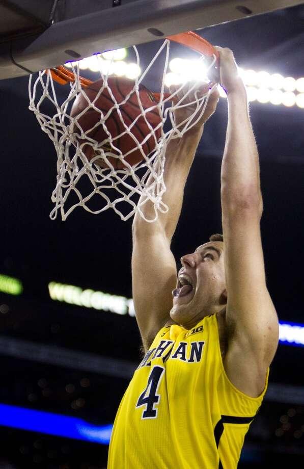 21. Oklahoma City Thunder – Mitch McGary, 6-10, PF, Michigan Photo: Shane Keyser, McClatchy-Tribune News Service