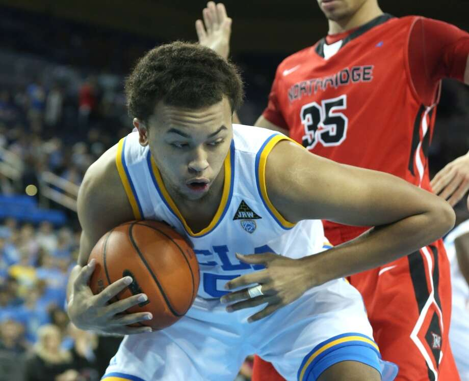 Kyle Anderson #5 of the UCLA Bruins controls a rebound against the Cal State Northridge Matadors at Pauley Pavilion on November 28, 2012 in Los Angeles, California. Photo: Stephen Dunn, Getty Images