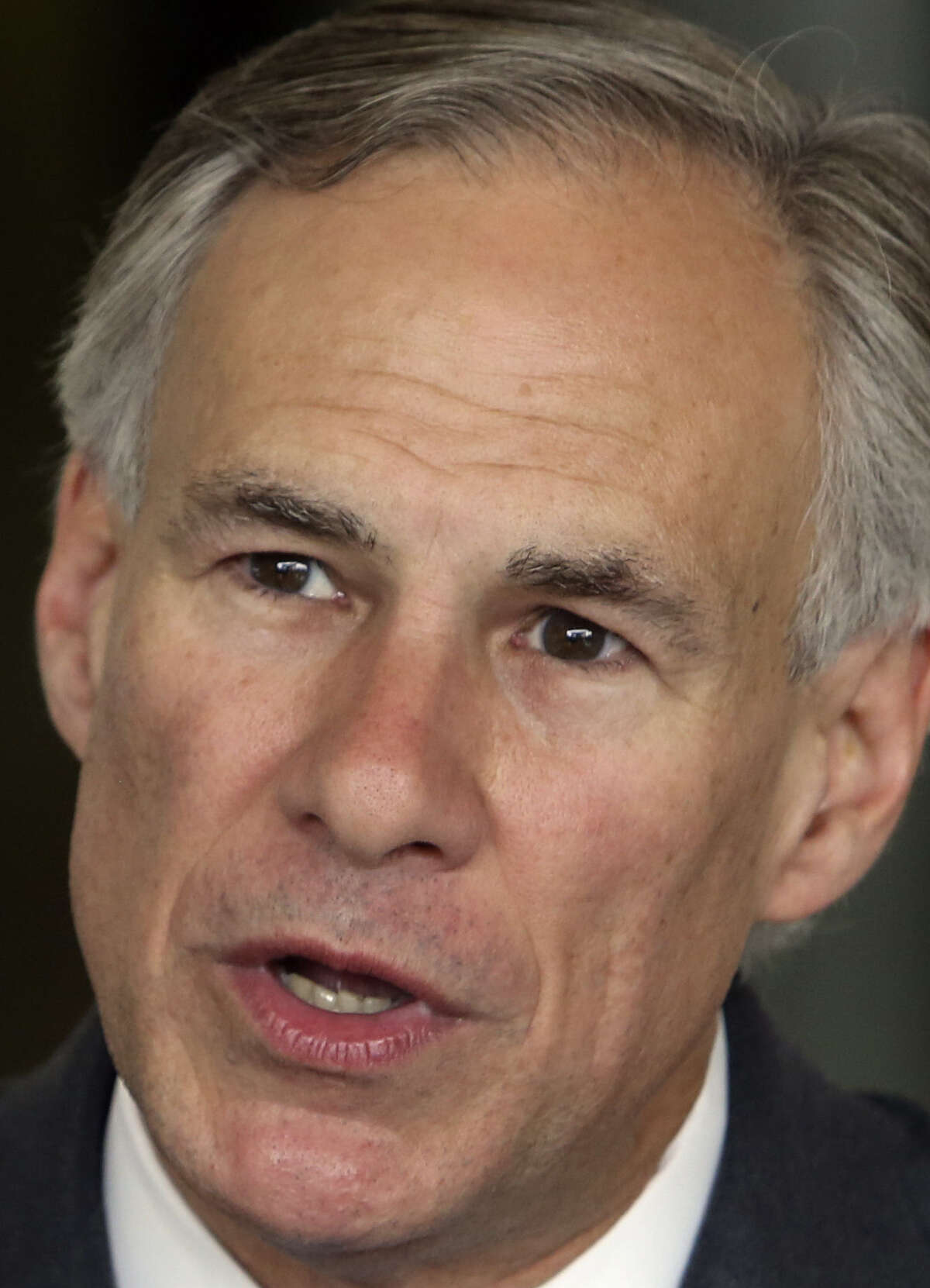 GOP gubernatorial nominee Greg Abbott discusses his education policies while visiting the Toyota plant on Monday May 12, 2014.