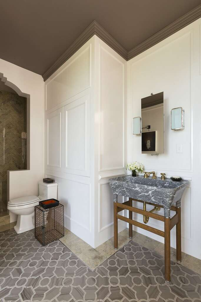 San Francisco Interior Designer Jaimie Belew Sourced Fixtures And Furnishings For The Luxe Master Bathroom At