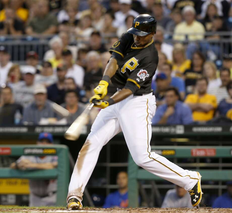 Pirates rookie Gregory Polanco had a three-run homer, four RBIs total, and raised his batting average to .338. Photo: Keith Srakocic, Associated Press
