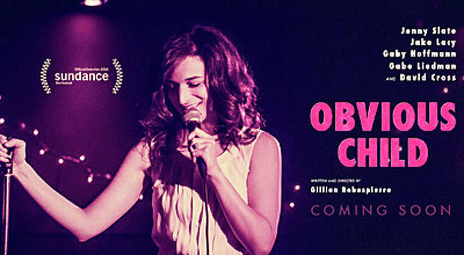 "The new movie, ""Obvious Child,"" stars Jenny Slate as a stand-up comedienne who falls in love while getting an abortion. Photo: Contributed Photo / Westport News"