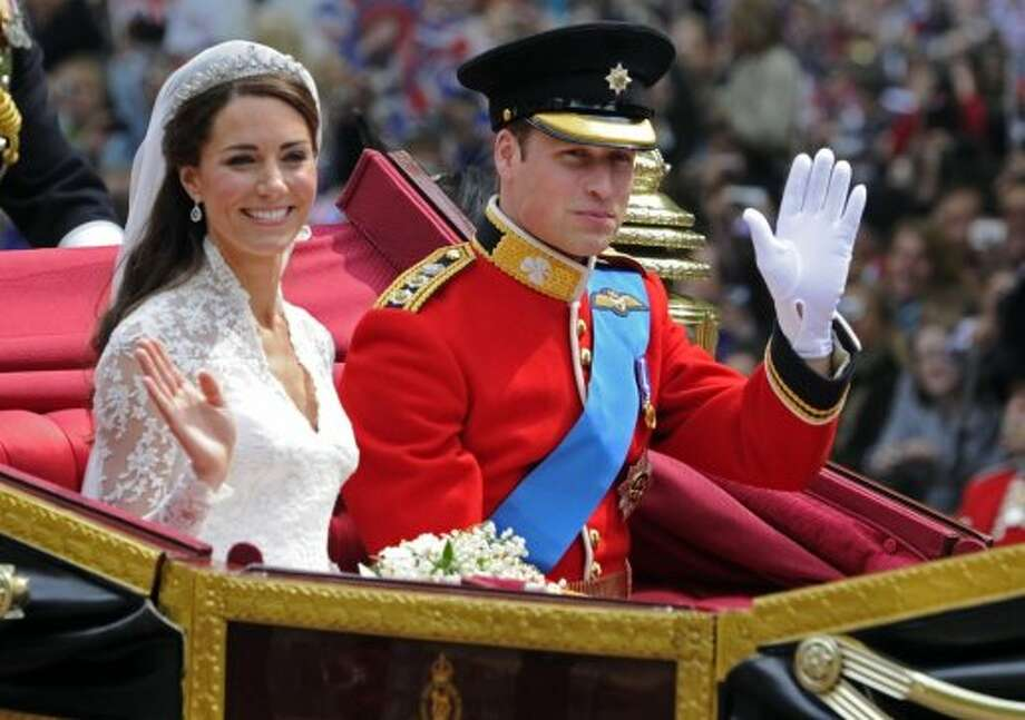 Most would agree that the wedding of the century was the 2011 royal nuptials of Britain's Prince William and his bride Kate, Duchess of Cambridge. Photo: Tom Hevezi, Associated Press