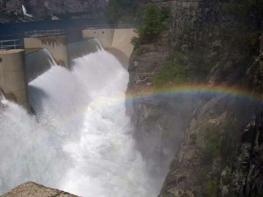 """O'Shaughnessy Dam Hetch Hetchy."" Photo: Submitted By Leah Enos"