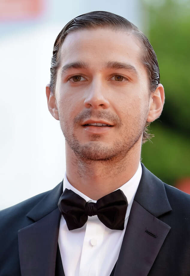 """FILE - In this Sept. 6, 2012 file photo, actor Shia LeBeouf arrives for the premiere of the movie """"The Company You Keep"""" at the 69th edition of the Venice Film Festival in Venice, Italy. The New York Police Department confirms on Thursday, June 26, 2014, that  LeBeouf  was taken out of a New York City theater for being disorderly and causing a disruption. Photo: Andrew Medichini, AP / AP"""