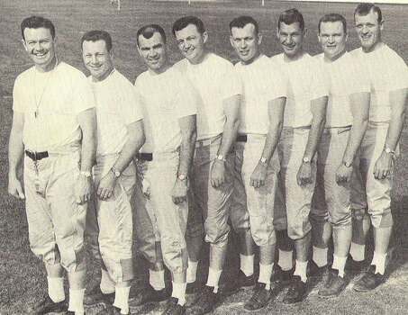 Darrell Royal's first coaching staff at Texas in 1957