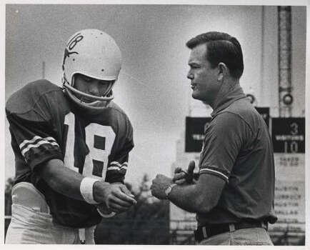 Darrell Royal (1957-76), Record: 167-47-5. Photo: Sam Pierson, Houston Chronicle