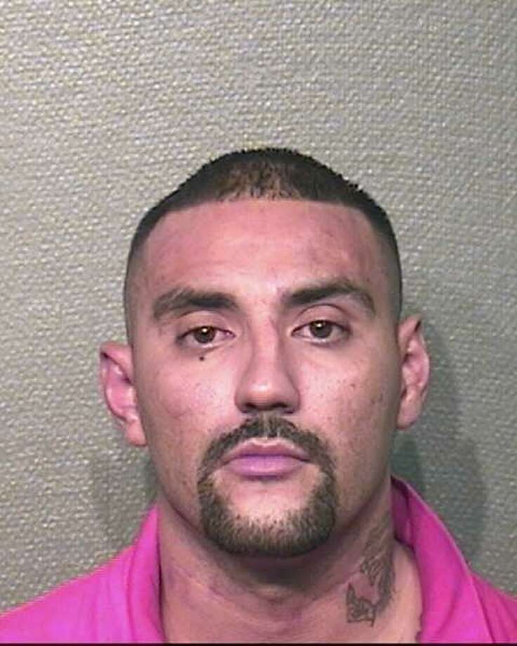 Santiago Gonzalez, 32, is wanted in Harris County on a charge of capital murder. Photo: Harris County Sheriff's Office Photo: Harris County Sheriff's Office