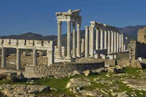 "Turkey:  The ancient city of  Pergamon   near modern-day Bergama was a center of  Hellenist learning and capital of the Roman province of Asia. Its ""multi-layered cultural  landscape,"" noted by UNESCO, includes remains from the Roman, Byzantine and Ottoman empires."