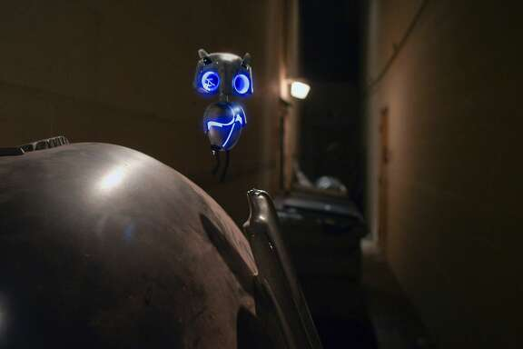"ECHO, a small alien who has become stranded on Earth in Relativity Media's ""EARTH TO ECHO ""."