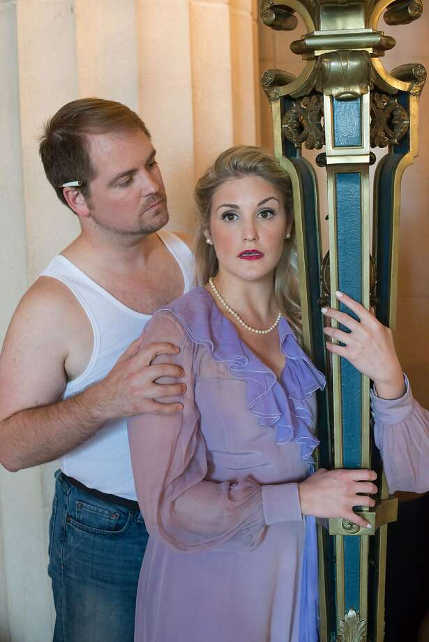 "Julie Adams and Thomas Gunther perform in Merola Opera's ""A Streetcar Named Desire."" Photo: Kristen Loken"