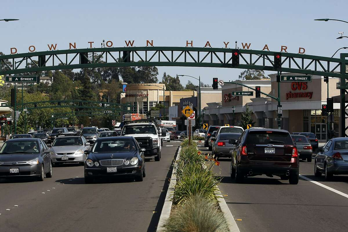 8. Hayward Average commute time: 32.4 minutes Median home price: $575,000 Crime rate: 349 incidents per 100,000 people Schools rating: 3.61 (out of 10) Total score: 49.63