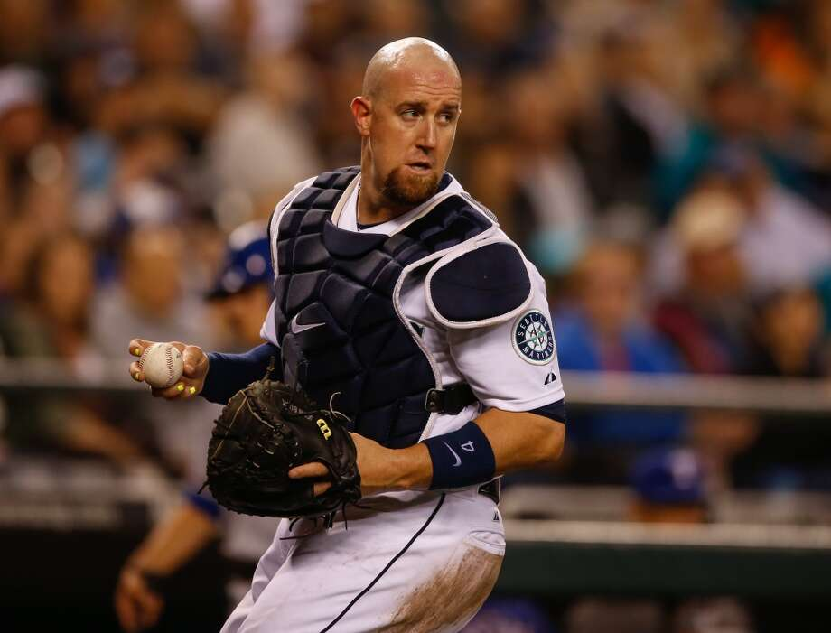 John Buck, catcher  Grade: C  2014 stats: 24 games, .219 average, 16 hits, 5 RBIs, 7 homers, 21 strikeouts, 1 error  Buck doesn't have impressive numbers, but he has done exactly what he was hired to do: be a decent backup catcher. But he has struggled at the plate   lately, bringing his average down from a season-high .271. Photo: Otto Greule Jr, Getty Images