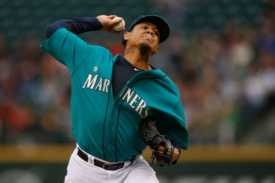Felix Hernandez, starting pitcherGrade: A2014 stats: 17 games, 9-2 record, 2.24 ERA, 128 strikeouts, 19 walks, 30 earned runsKing Felix is on pace for the best season of his career, putting up better numbers, so far, than he did in 2010, when he won the A.L. Cy Young Award.   Hernandez is second in the A.L. in strikeouts and seems to be on a roll. Photo: Otto Greule Jr, Getty Images