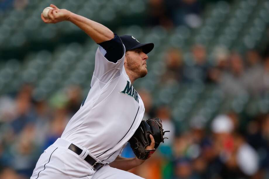 Brandon Maurer, relief pitcherGrade: D2014 stats: 8 games, 1-4 record, 7.08 ERA, 21 strikeouts, 14 walks, 27 earned runsMaurer was not good as Seattle's fifth starter early in the season, and he watched his ERA climb to 7.52 before the Mariners sent him back down to Tacoma.   The M's converted him to a reliever, and he was impressive in his return Wednesday with four strikeouts. Photo: Otto Greule Jr, Getty Images