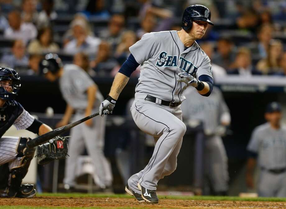 Michael Saunders, outfielder  Grade: B-  2014 stats: 52 games, .265 average, 39 hits, 23 RBIs, 4 homers, 35 strikeouts, 0 errors  Finally, Saunders has shown some solid offense to go along with his stellar defense. His averaged clined to .276 at the end of May, but he went on the   disabled list in early June with a shoulder injury. Photo: Mike Stobe, Getty Images