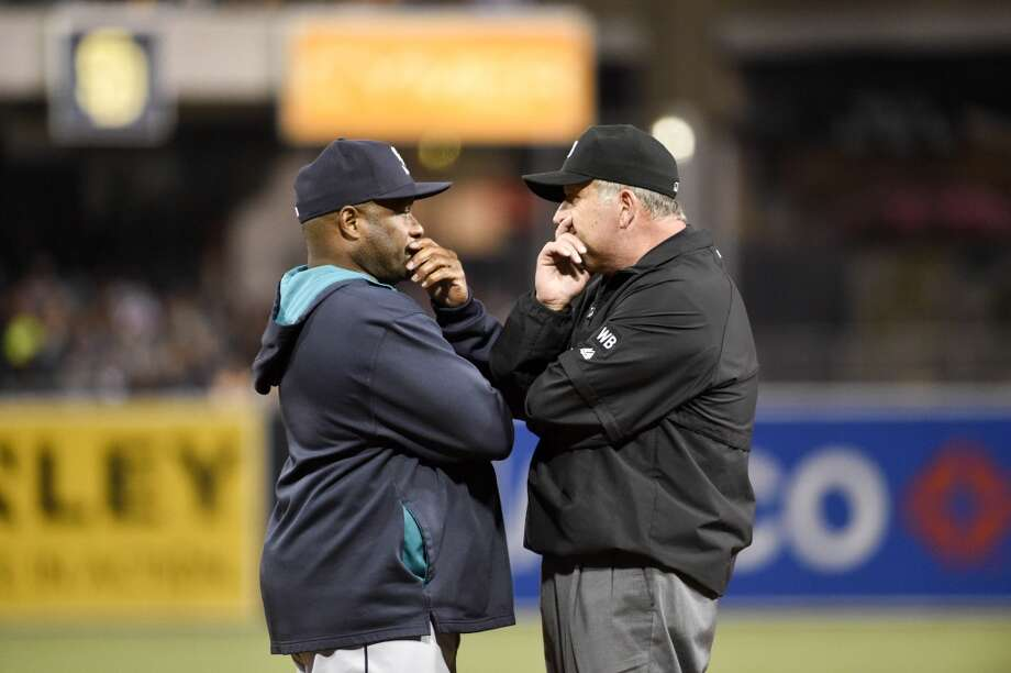 Lloyd McClendon, manager  Grade: A  In his first year as Mariners manager, McClendon has turned the Mariners from a laughingstock to a surprise playoff contender. Somehow he has done it   despite numerous injuries to Seattle's roster, proving himself a master at manipulating a lineup. His skill at managing veterans and youngsters alike, and   ushering them in and out of the minor-league revolving door, is a huge reason Seattle is five games over .500 with a 42-37 record. Photo: Denis Poroy, Getty Images