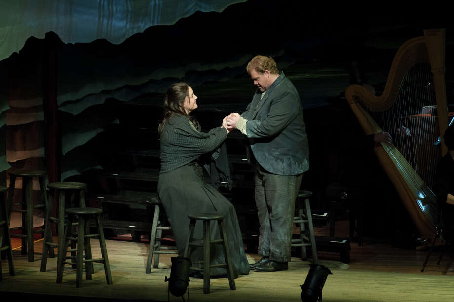 "The San Francisco Symphony performed Benjamin Britten's ""Peter Grimes"" in June, with Elza van den Heever as the widow whom Peter Grimes (Stuart Skelton) loves. Photo: Stefan Cohen / ONLINE_YES"