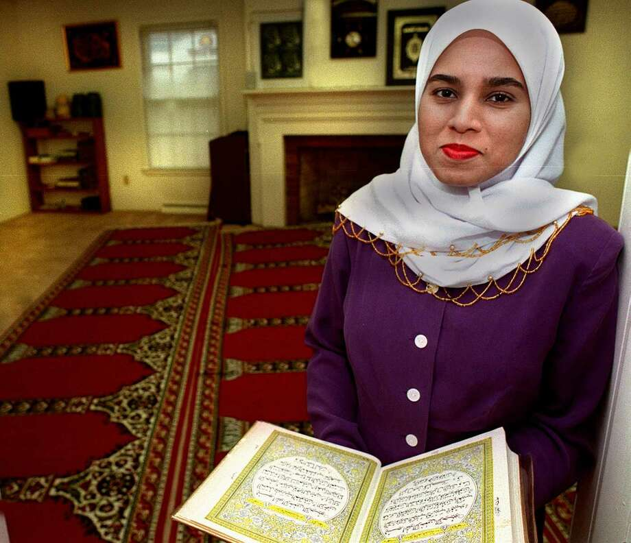 "Shazeeda Kahnis a Muslim involved in the The Meeting House, which will be doing a program called ""Caravan of Faith beginning Oct.25 to enlighten people on the different faiths in Danbury. Photo: File Photo\Wendy Carlson / The News-Times File Photo"
