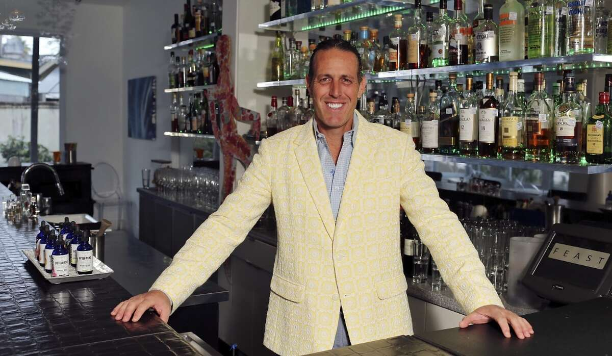 Andrew Goodman owns Feast and had the winning bid for Fire Station No. 7.