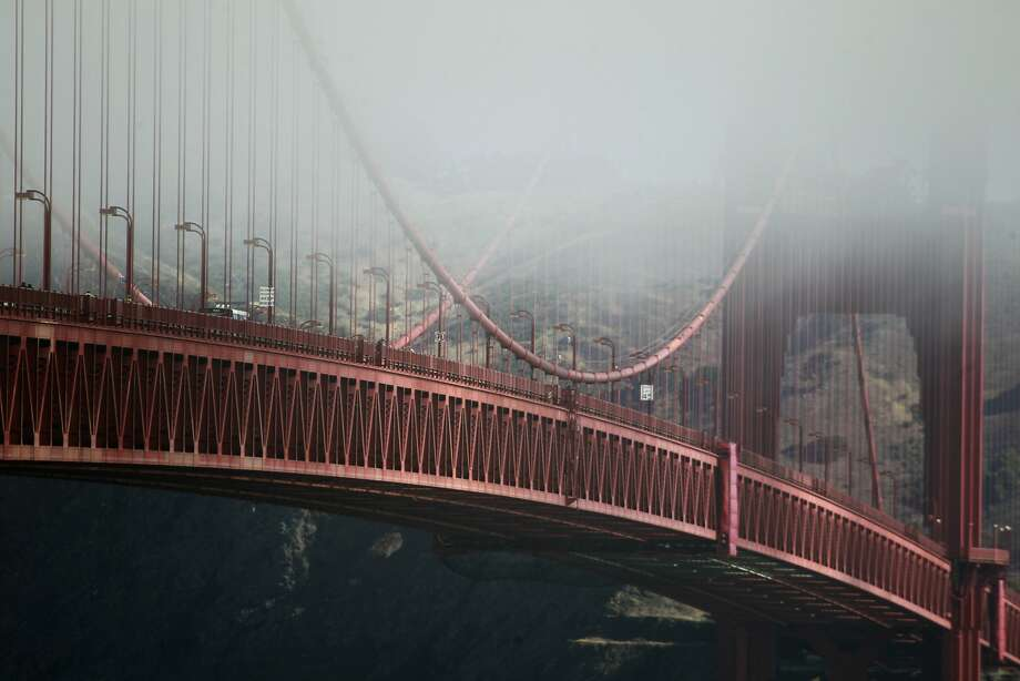Over the years, hundreds of people have leaped to their deaths from the Golden Gate Bridge into the San Francisco Bay. Photo: Paul Chinn, The Chronicle