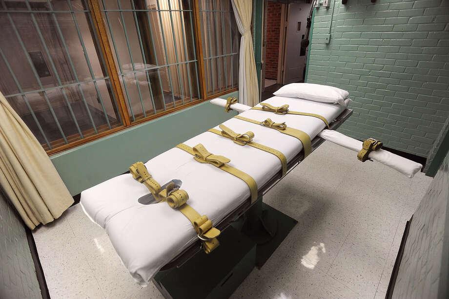 Death Chamber at Huntsville Prison Guiseppe Barranco/The Enterprise