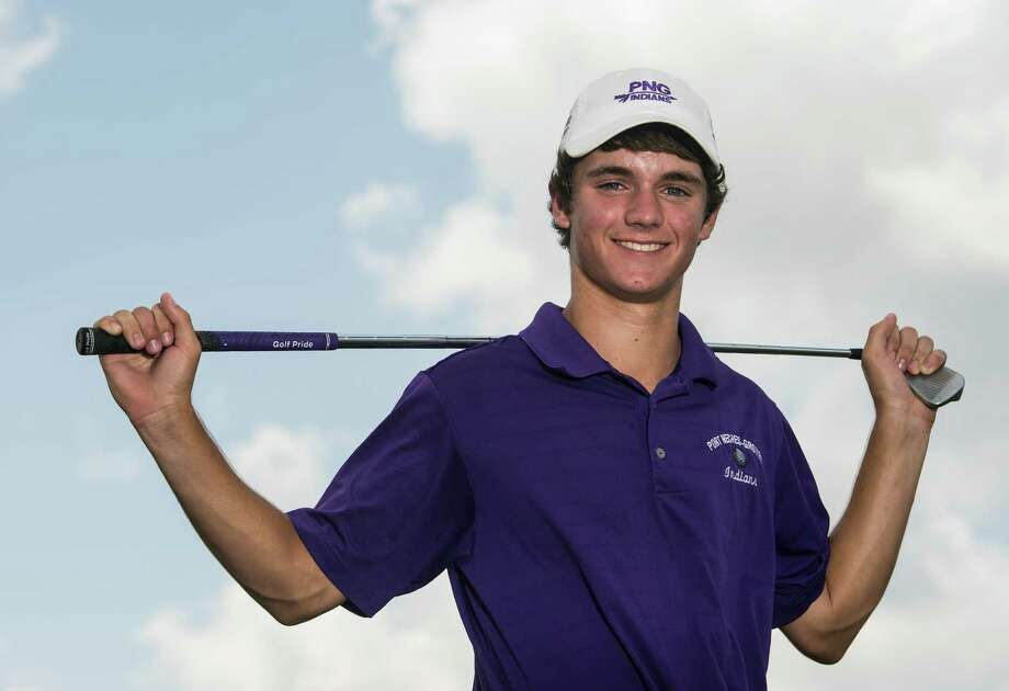 Port Neches-Groves' Braden Bailey finished in second place at Monday's USGA Junior Am Championship qualifier held in Lafayette, Louisiana.  Jake Daniels/@JakeD_in_SETX Photo: Jake Daniels / ©2014 The Beaumont Enterprise/Jake Daniels