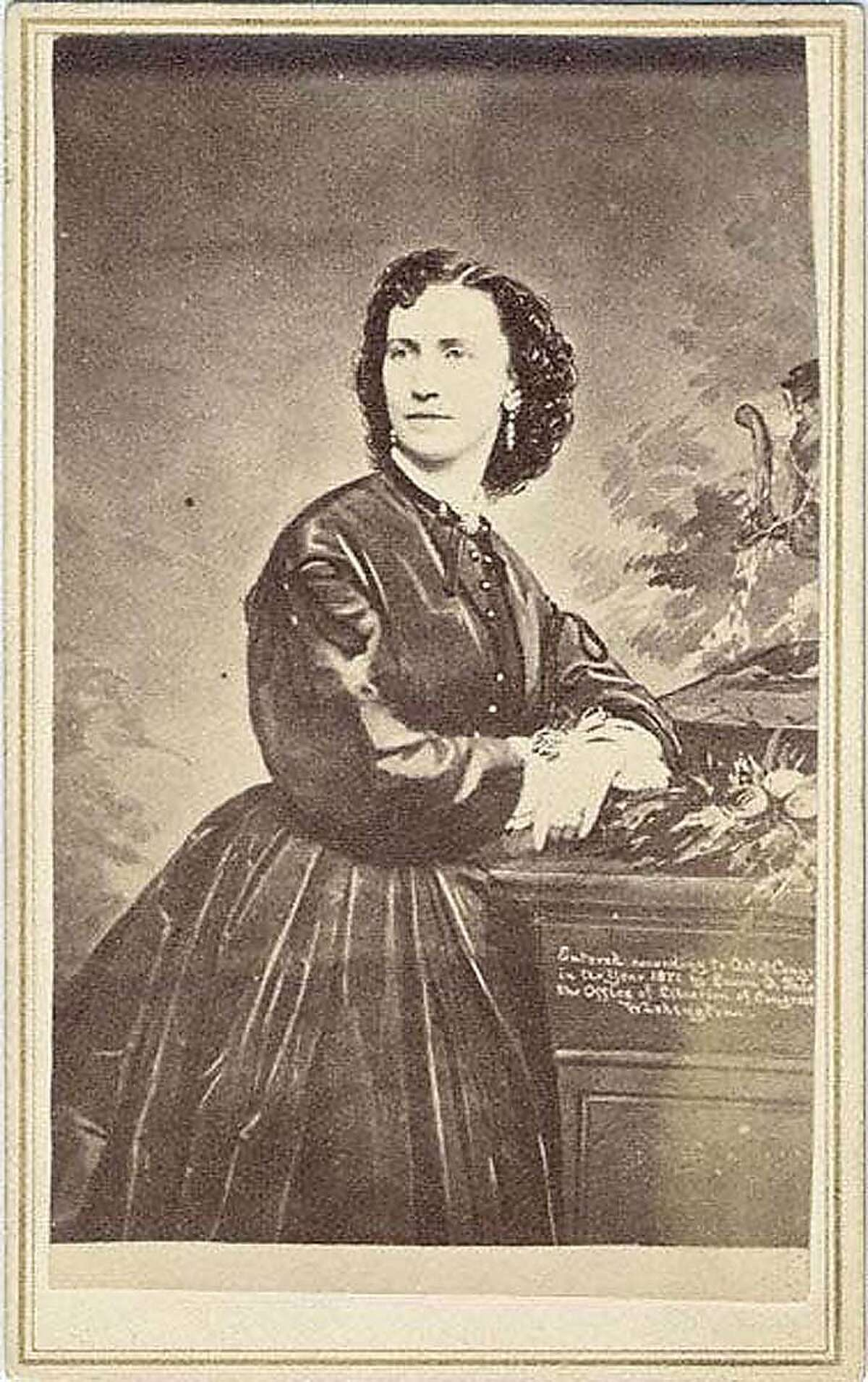 Laura Fair, mistress of Alexander Parker Crittenden, shot and killed him aboard the ferry boat El Capitan in 1870. Used with permission for on-line and print, Courtesy University of Nevada, Reno. Laura Fair, mistress of Alexander Parker Crittenden, shot and killed him aboard the ferry boat El Capitan in 1870.
