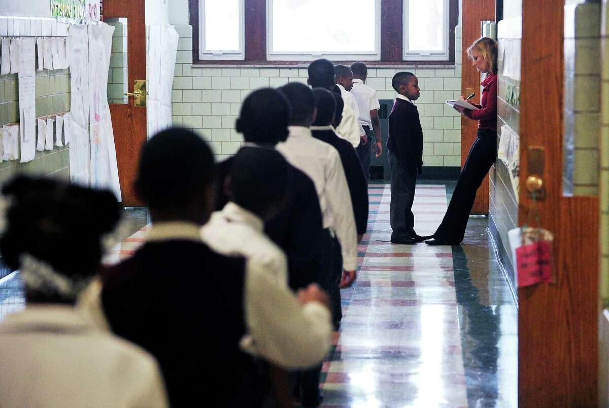 The charter school Jumoke Academy in Hartford in 2011.