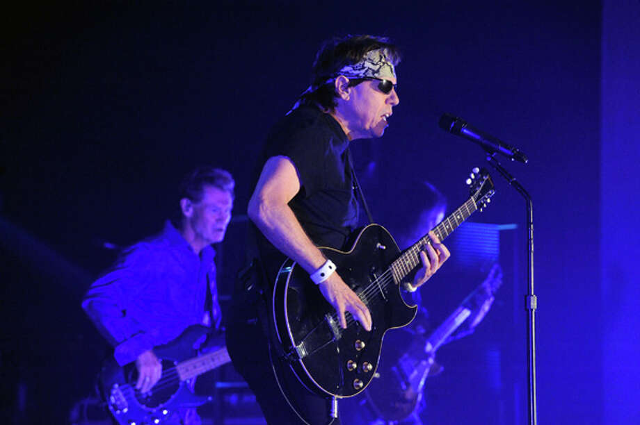 George Thorogood and the Destroyers perform at the Empire State Plaza Convention Center on Wednesday June 25, 2014 in Albany, N.Y. (Michael P. Farrell/Times Union) Photo: Michael P. Farrell, Albany Times Union / 00027119A