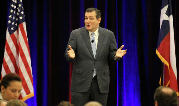 """Pastor Rafael Cruz, father of U.S. Sen. Ted Cruz, denounced evolution as a Marxist falsehood at a Texas prayer breakfast in June 2013, according to the liberal Right Wing Watch.""""There is nothing scientific about evolution,"""" Cruz said. """"Evolution is one of the strongest tools of Marxism because if they can convince you that you came from a monkey, it's much easier to convince you that God does not exist.""""Pictured, Sen. Ted Cruz. Photo: JOHN DAVENPORT, San Antonio Express-News / ©San Antonio Express-News"""