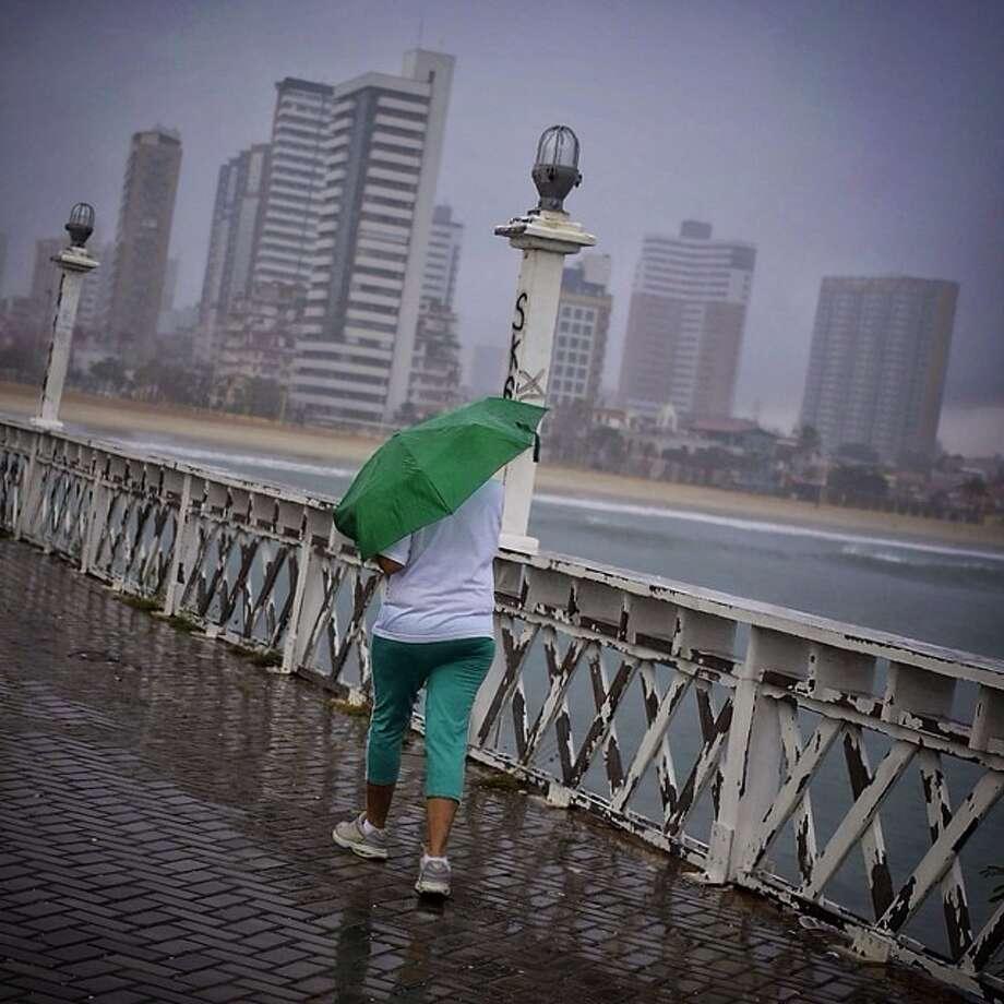 Stormy morning in Fortaleza, Brazil. (AP Photo/Wong Maye-E) Photo: Wong Maye-E, Associated Press / AP