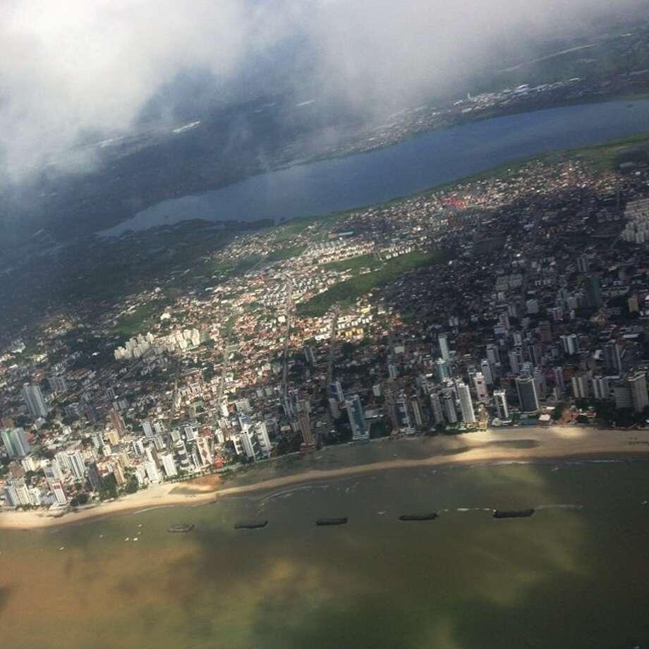 Said adios to a beautiful Recife on my way to Sao Paulo. Photo: Julio Cortez, Associated Press / AP