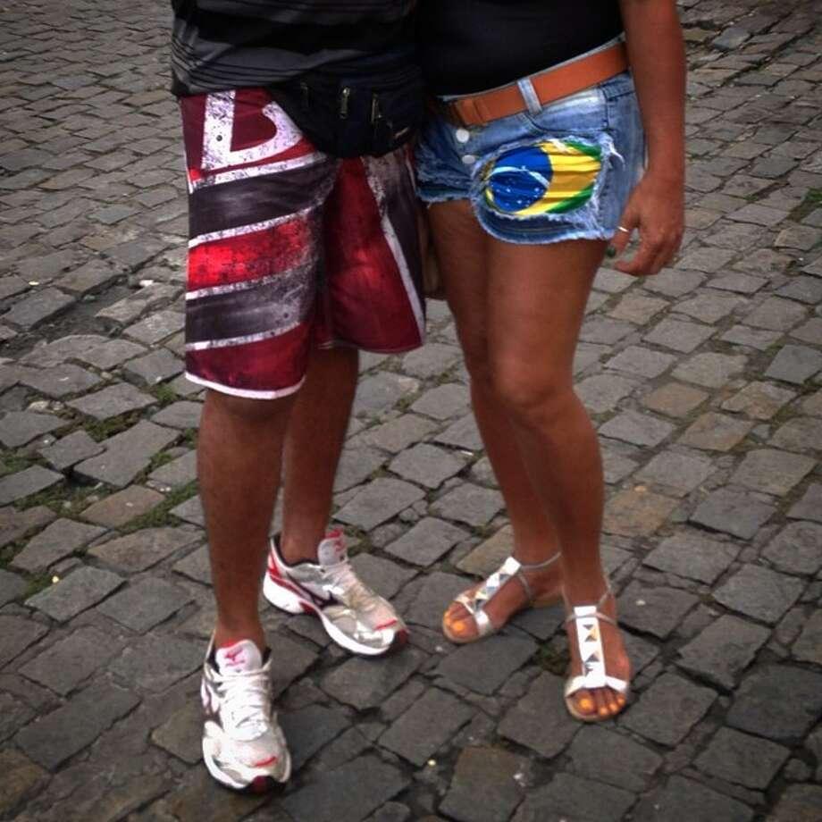 Love in Pelourinho, Salvador. Photo: Bernat Armangue, Associated Press / AP