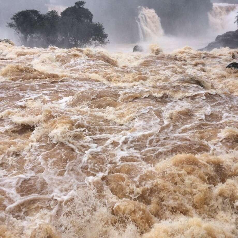 Iguazu Falls in Brazil. Photo: Lee Jin-man, Associated Press / AP