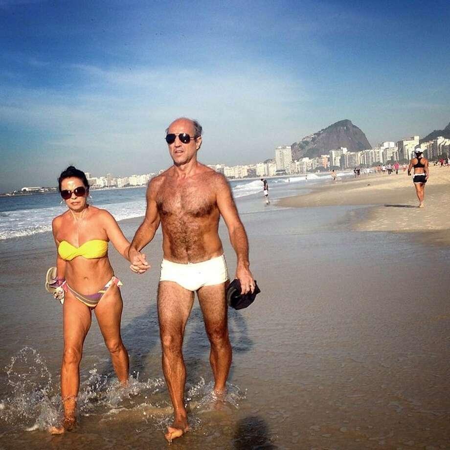 Glamor on Copacabana beach in Rio de Janeiro. Photo: Wong Maye-E, Associated Press / AP