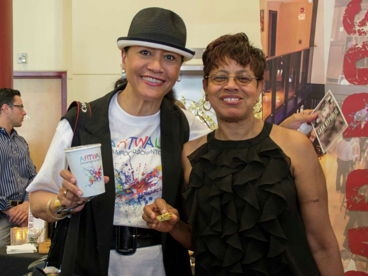 The kick-off party for Artwalk in Stamford downtown was held at the Palace Theater on Friday, June 27. Attendees mingled with the artists, and enjoyed food, drinks and live music. Were you SEEN?