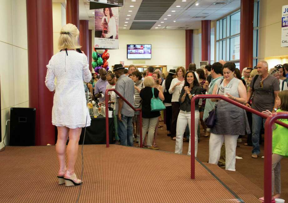 The kick-off party for Artwalk in Stamford downtown was held at the Palace Theater on Friday, June 27. Attendees mingled with the artists, and enjoyed food, drinks and live music. Were you SEEN? Photo: Kimberly Rabita / Hearst Connecticut Media Group