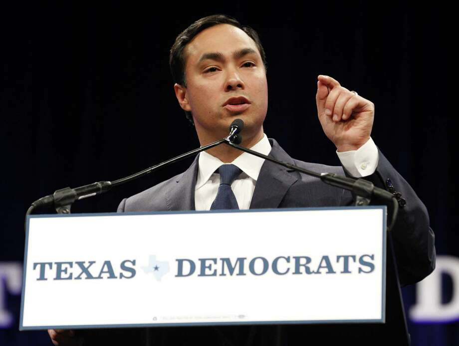 U.S. Rep. Joaquin Castro speaks at the Democratic State Convention on Friday, June 27, 2014, in Dallas at the Kay Bailey Hutchison Convention Center. (Richard W. Rodriguez/Fort Worth Star-Telegram/MCT) Photo: Richard W. Rodriguez, McClatchy-Tribune News Service / Fort Worth Star-Telegram
